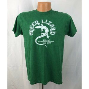 Vintage 1970s Green Lizard Party T-Shirt